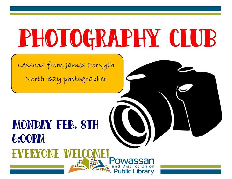 February 8, 2016 - Photo Club