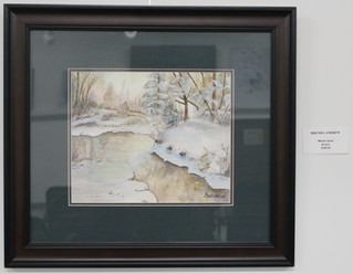 Brenda Lee Andrew March & April Art Display