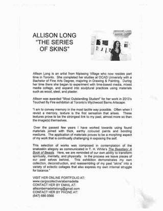 Allison Long Exhibition