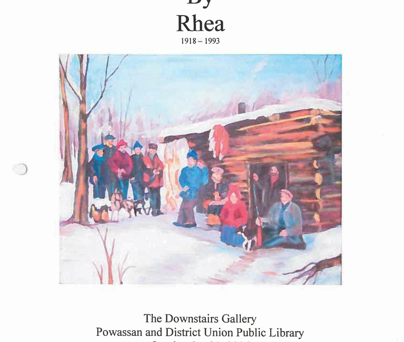 October 2006 - Rhea Hill - Poster-1
