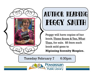 Author Reading & Signing with Peggy Smith