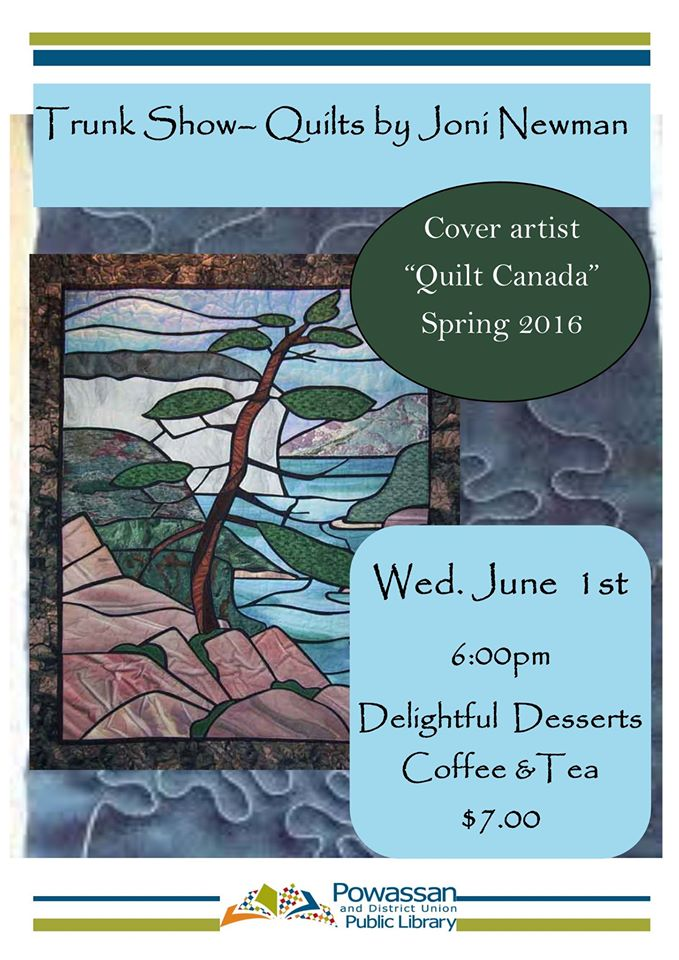 June 1, 2016 - Quilts Trunk Show