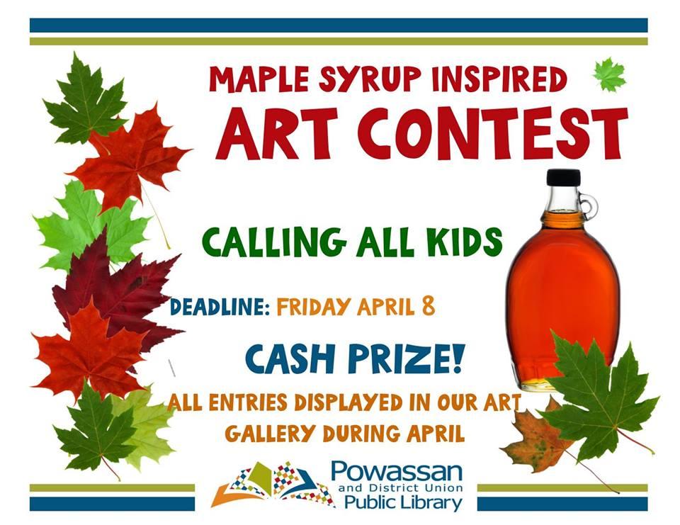 April 8, 2016 - Art Contest