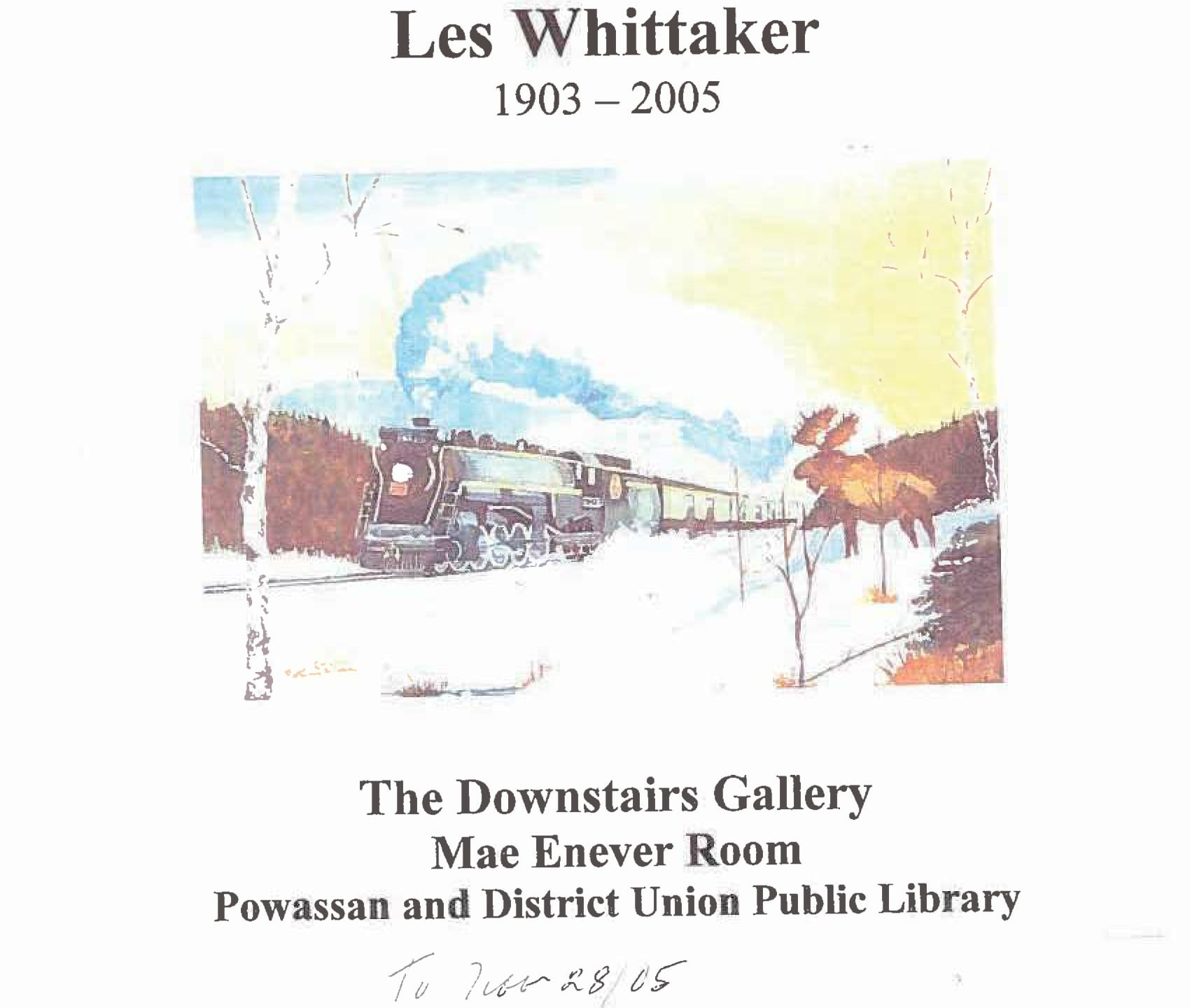 Les Whittaker - Poster-1