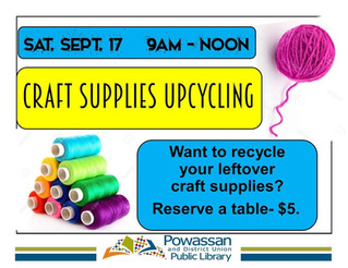 Upcycle Craft Supplies