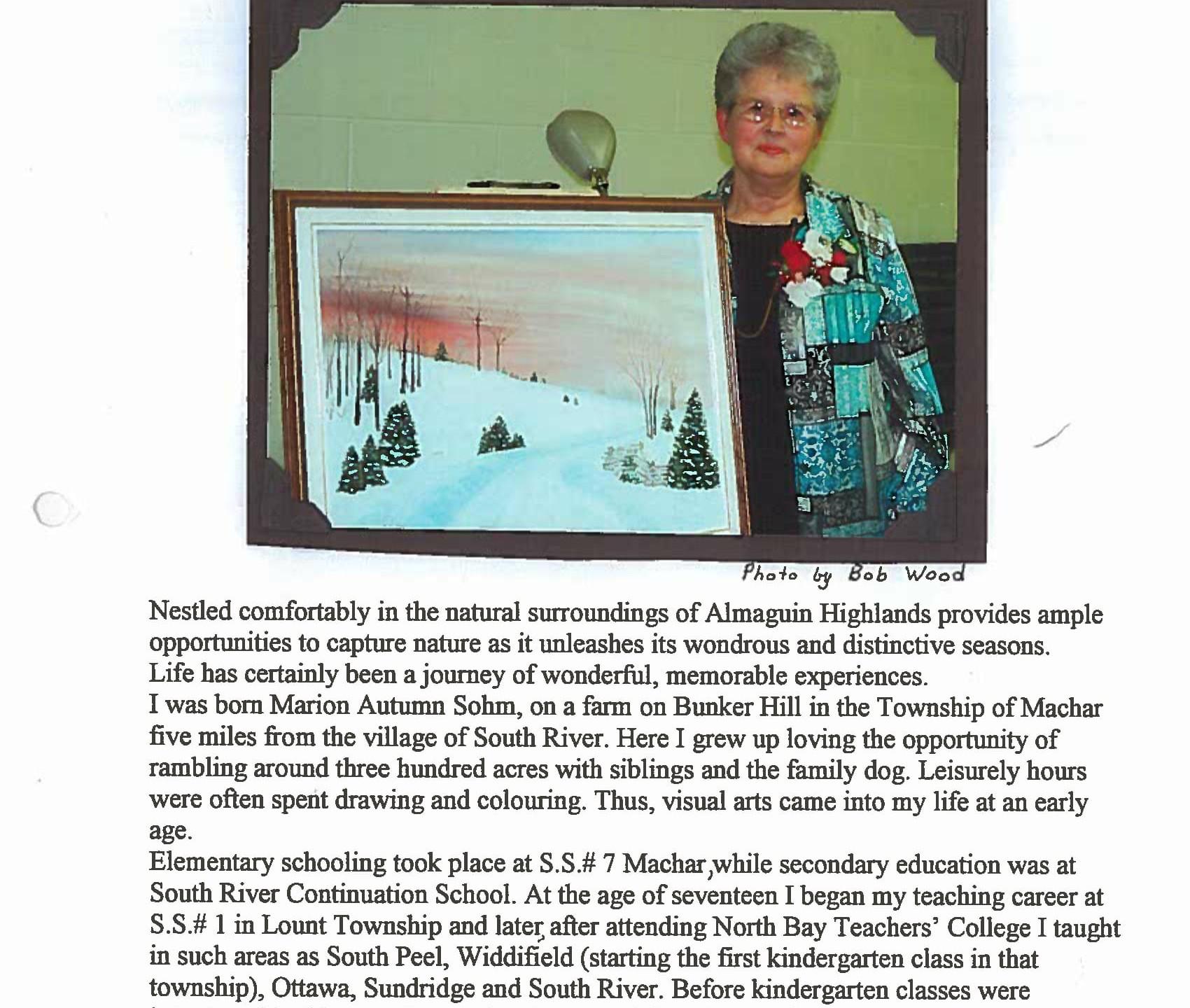 May 2005 - Marion Morris - Information-1