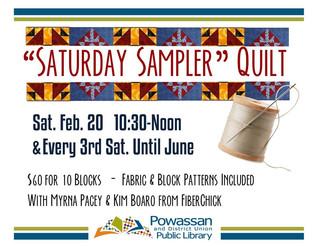 Saturday Quilt Sampler