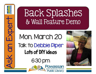 Back Splash Workshop with Debbie Piper