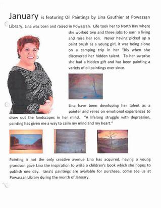 Lina Gauthier Exhibition