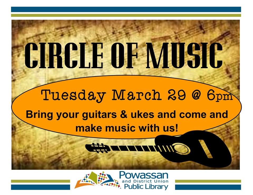 March 29, 2016 - Circle of Music
