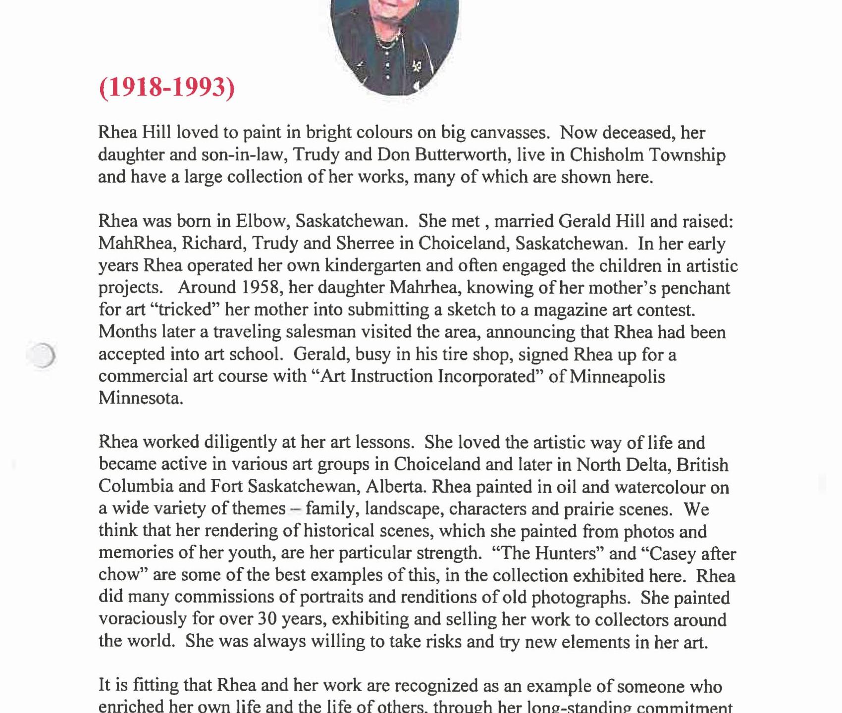 October 2006 - Rhea Hill - Information-2