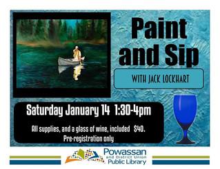 Paint N'Sip with Jack Lockhart