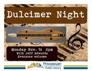 Dulcimer Night