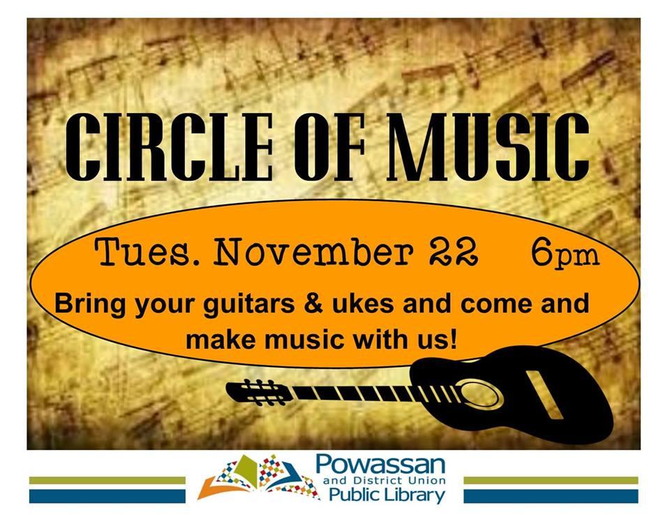November 22, 2016 - Circle of Music