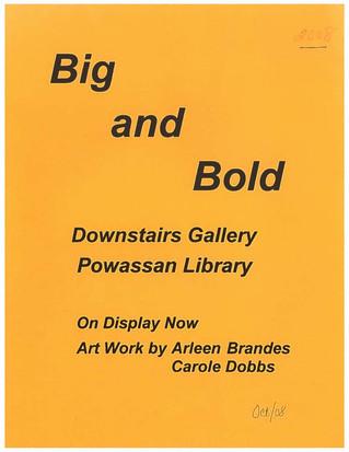Arleen Brandes & Carole Dobbs Exhibition