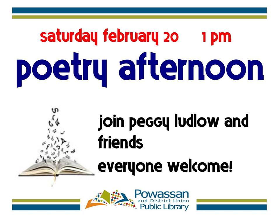February 20, 2016 - Poetry Afternoon