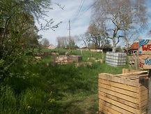 Jardin surélevé pour personne à mobil