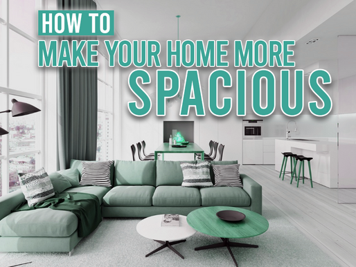 How To Make Your Home More Spacious