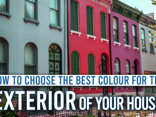 How to choose the best color for the exterior of your House?