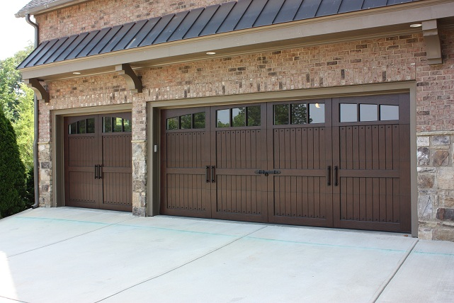 garage door wood