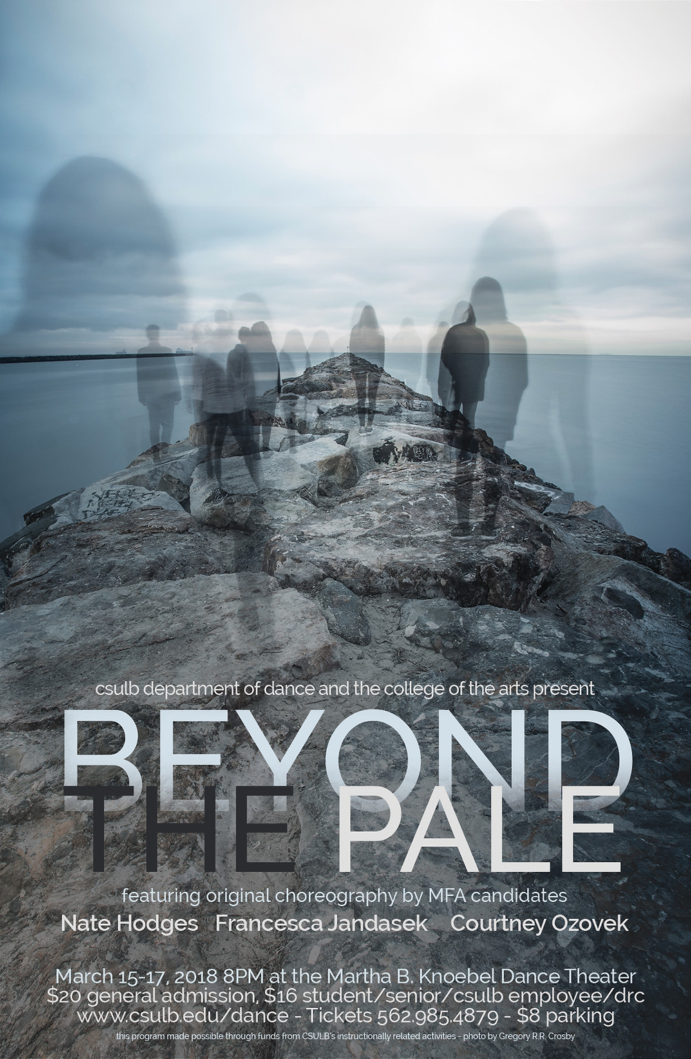 Flyer for Beyond the Pale Performance