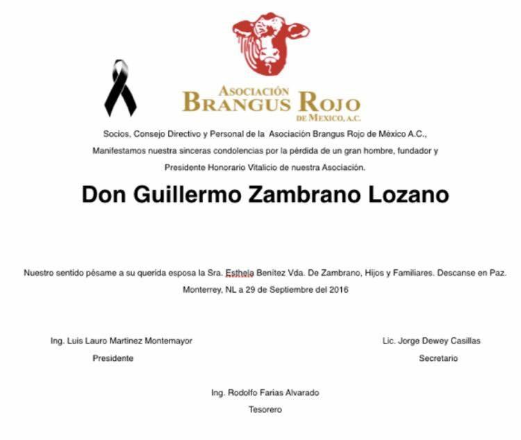 Guillermo Zambrano Lozano