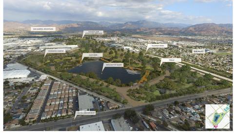 Tujunga Wash Design Area (Hansen Dam Spreading Grounds)