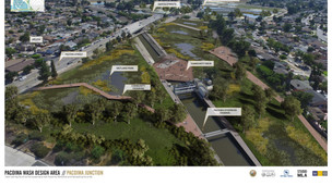 Pacoima Wash Design Area (Pacoima Junction)