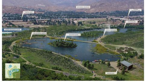 Tujunga Wash Design Area (Hansen Dam Lake Revitilization)