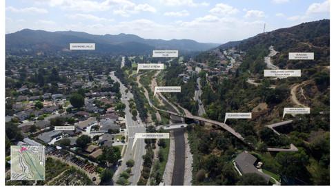 Verdugo Wash Design Area (San Rafael Ecological Connection)