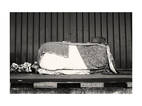 Les abris | Destruction d'un squat de migrants au Port | Calais