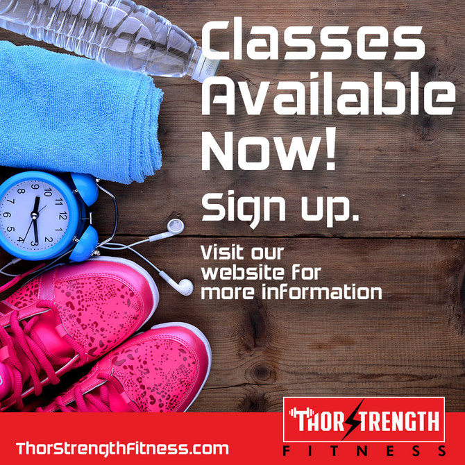 Classes Available Now!