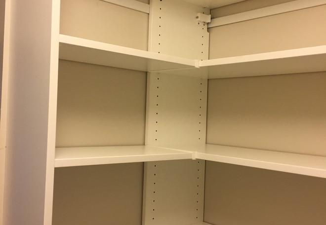Sharp Corner Shelves