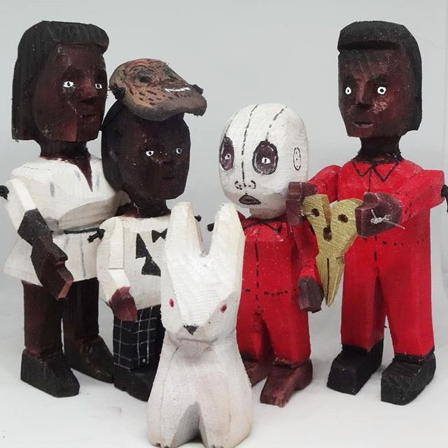 """""""US"""" Action figures."""