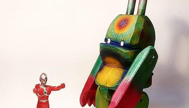 Ultrama talk with Ultraman__#kaiju #kaij