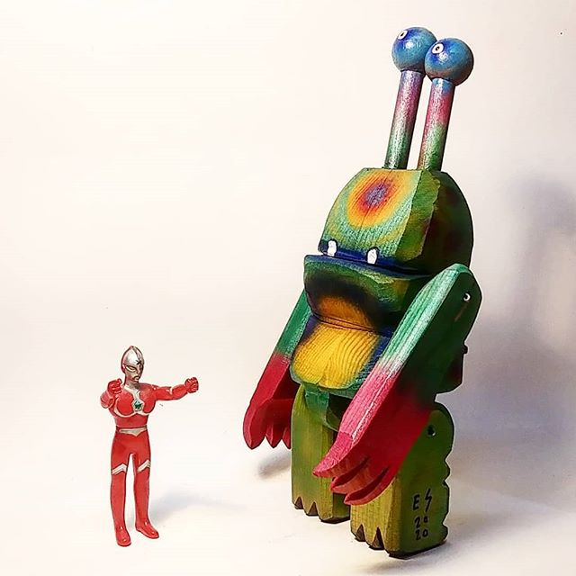 Ultrama talk with Ultraman__#kaiju #kaij