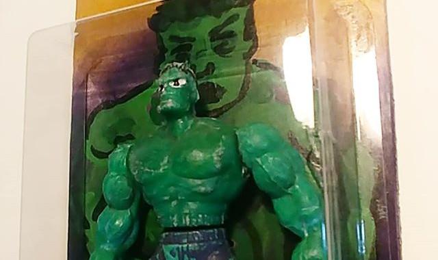 Hombre verde._Green man ugly. $35__Bootl