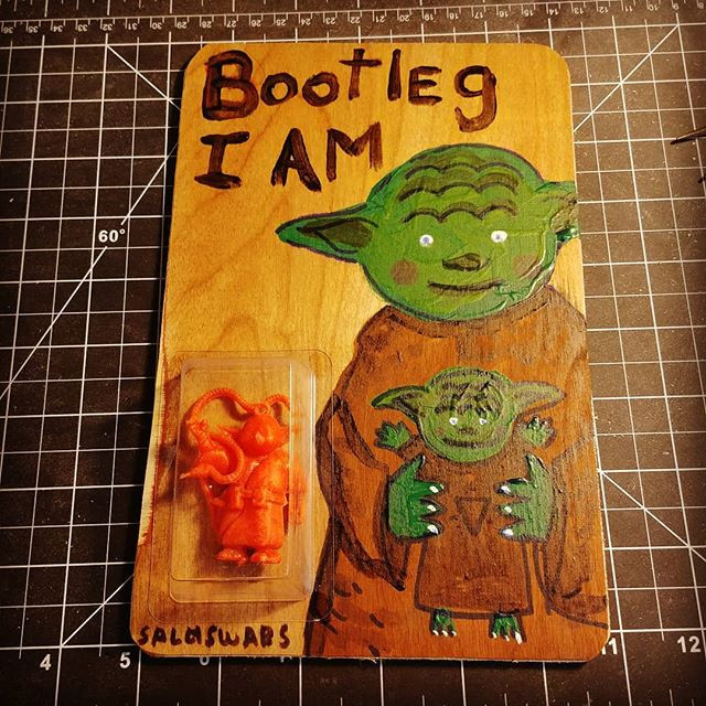 Bootleg I am._Commission piece_Art card