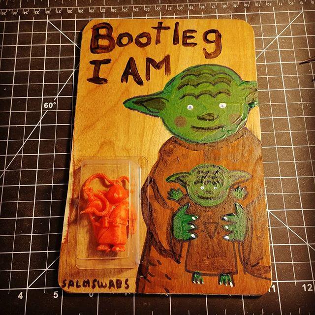 Bootleg I am._Commission piece_Art card