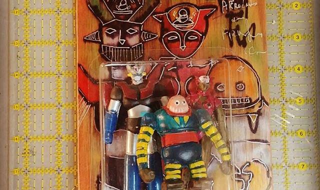 Manzinger Z characters._Mazinger z, Afro