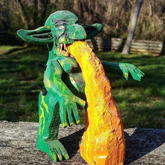 Spring cheddar goblin
