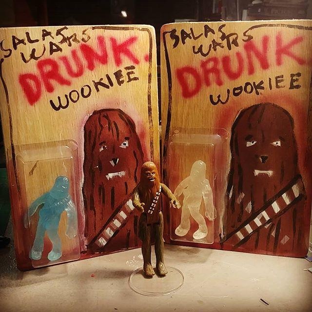 _Drunk Wookiee__Figure_ Mexican street b