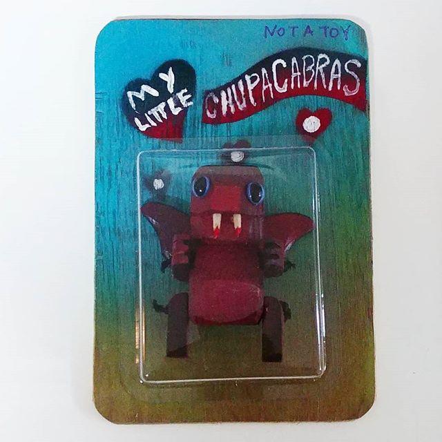 My little Chupacabras.