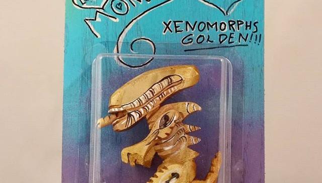 My little Monster. Golden Xenomorphs._4.