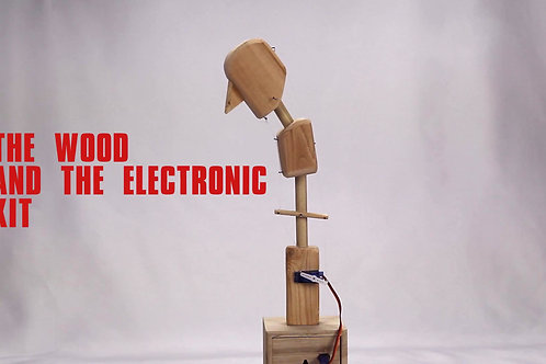 Puppet head kit with Bluetooth Comand