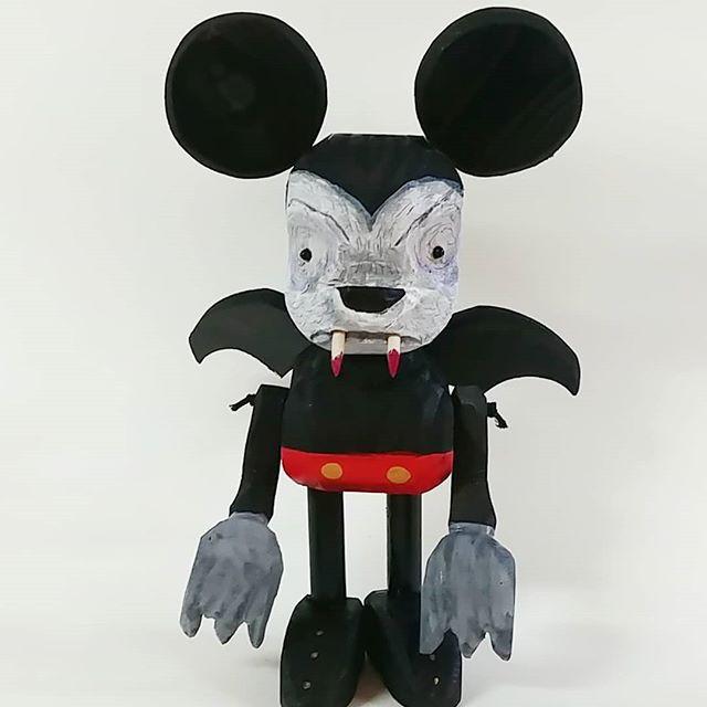 Mickey mouse vampire.Disney is dead ser