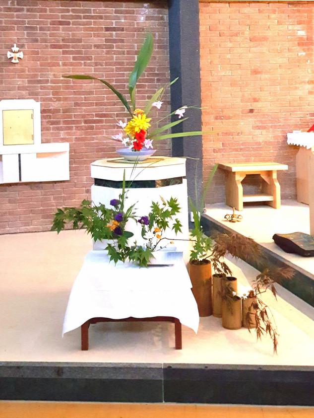 Holy Family Catholic Church Flower Festival