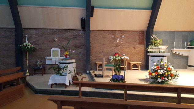 Holy Family Catholic Church Flower Festival