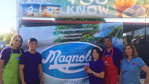 Revellers at Pittsburg Seafood Festival try Ube ice cream for the first time and liked it!
