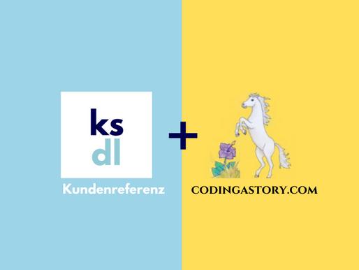 Meine Digital Marketing Unterstützung für Coding A Story